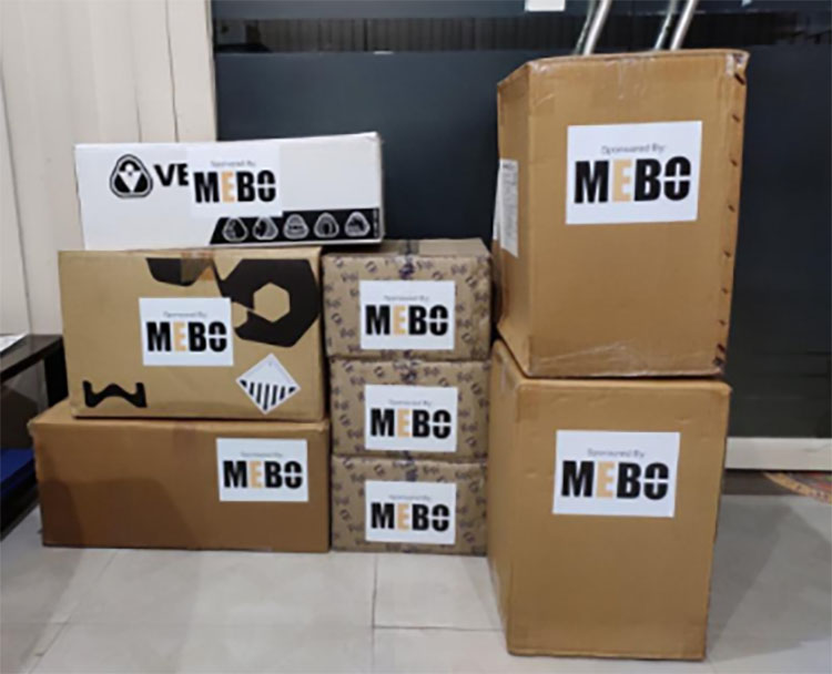MEBO Provided Assistance to Alleviate the Epidemic In India