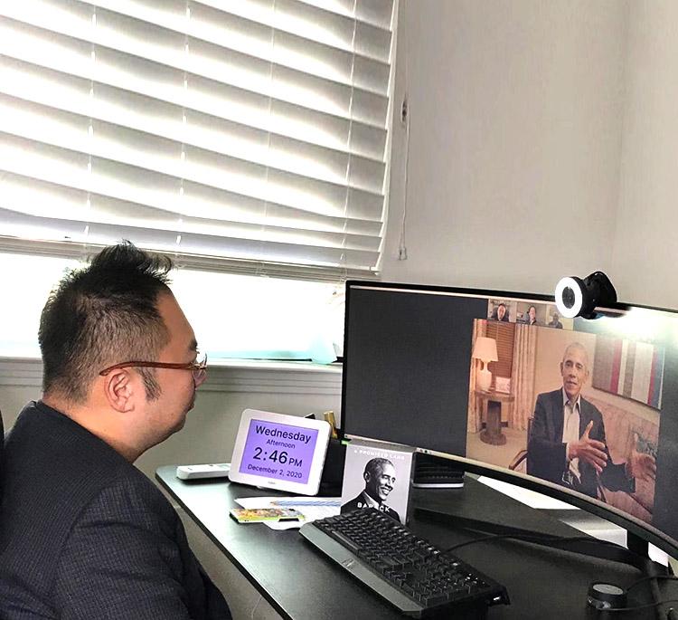 美宝集团董事局主席徐鹏应邀参加奥巴马新书座谈会